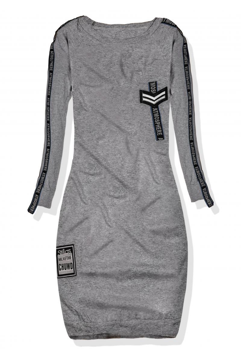 833428e5d0c2 Svetlo sivé dámske športové šaty pre ženy