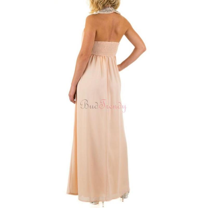 01145538f970 Svetlo ružové trendy spoločenské šaty pre ženy