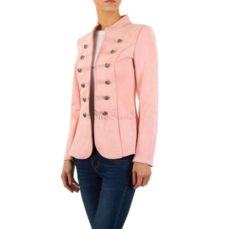 45765adef0ac Elegantné ružové dámske sako